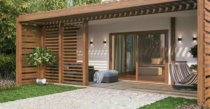 Les maison en bois