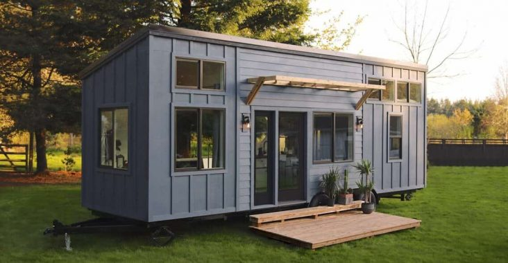 Tiny house en maison container