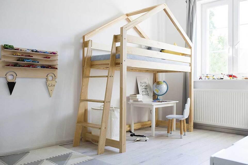le lit mezzanine de son enfant